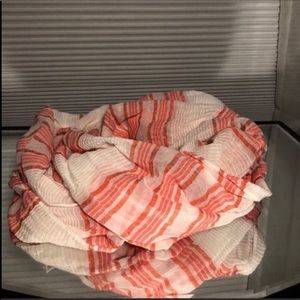 PRICE FIRM American Eagle Striped Infinity Scarf